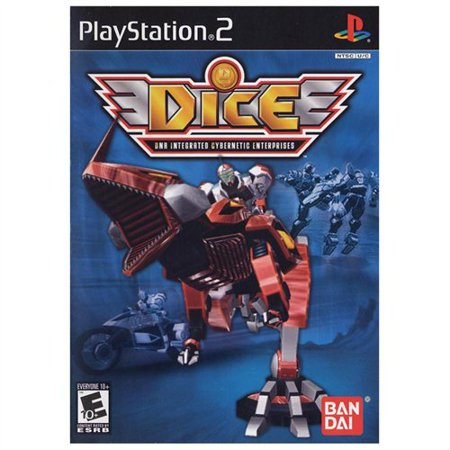 Namco 18030 Dice Ps2 2 Button Ps2 Scroll