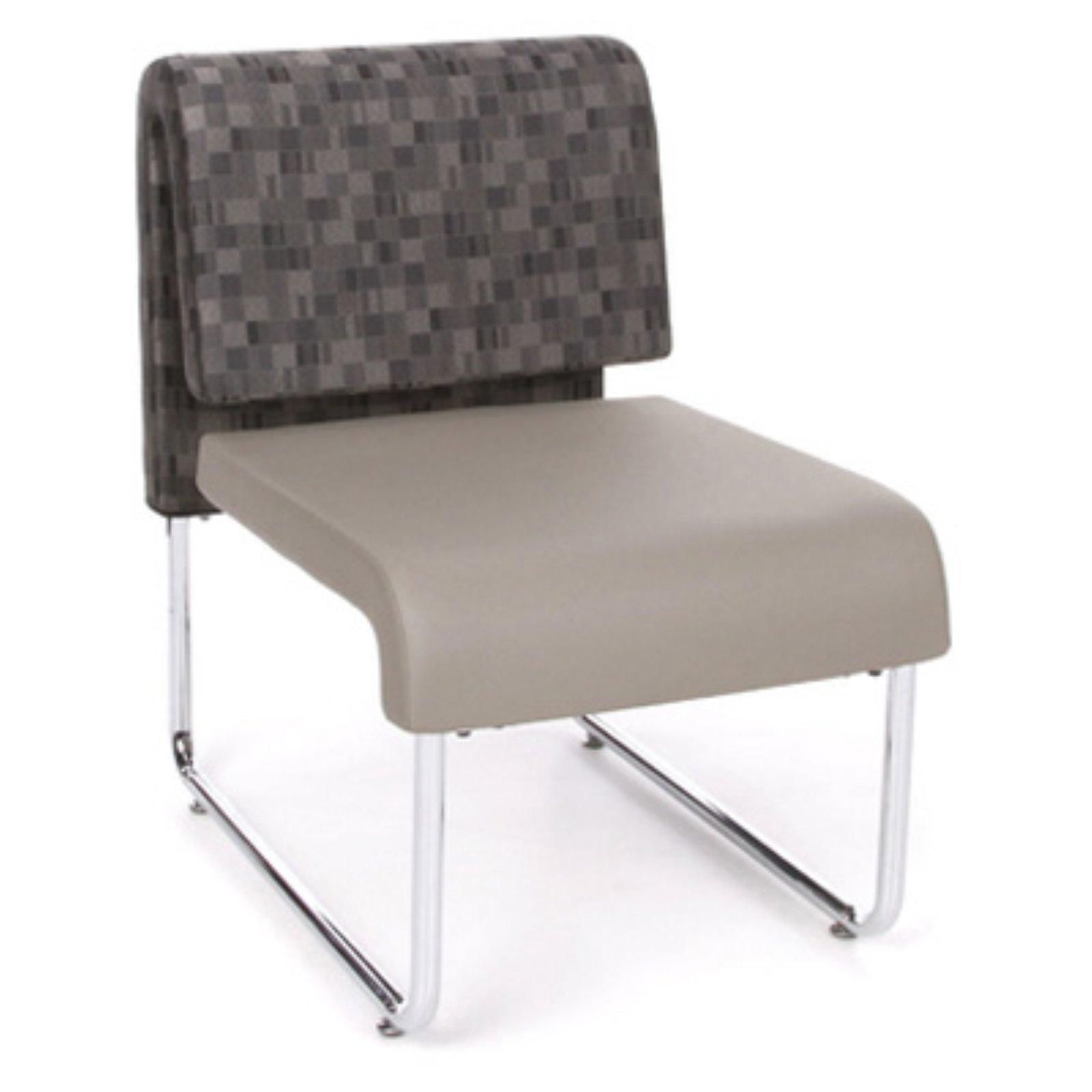 OFM Inc Uno Reception Chair - Bluejay