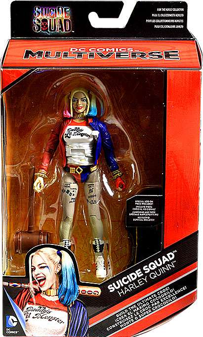 DC Multiverse, Suicide Squad, Harley Quinn Exclusive Action Figure, 6 Inches by