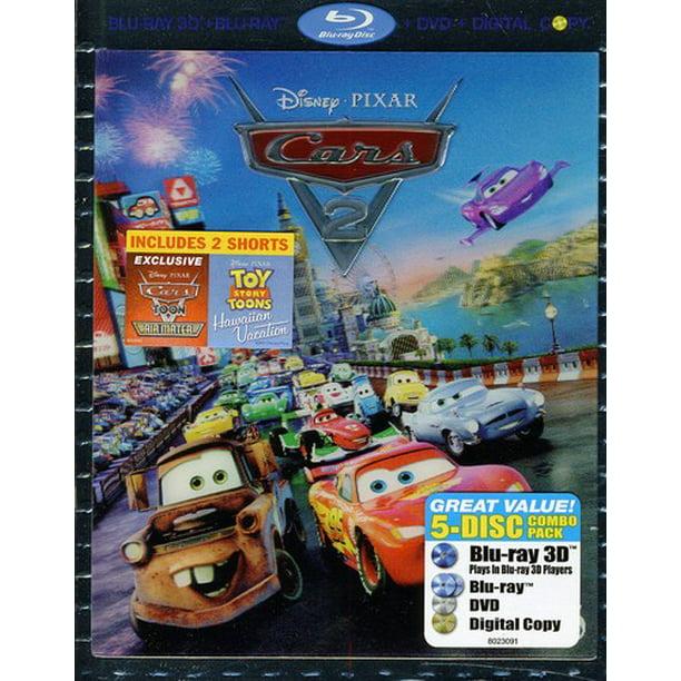 Cars 2 3d Blu Ray Blu Ray Dvd Digital Copy Walmart Com