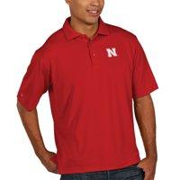Nebraska Cornhuskers Antigua Xtra Lite Big & Tall Polo - Scarlet