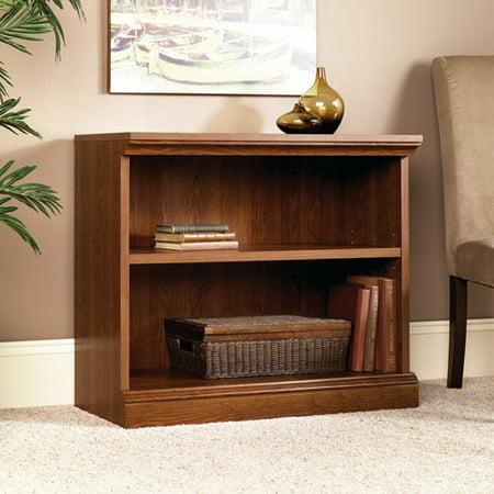 Sauder Camden Country 2-Shelf Bookcase, Planked Cherry