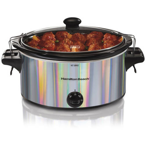Hamilton Beach Stay or Go 5 Quart Slow Cooker | Model# 33452