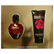 XS Black GSWPACOXSBLACK2PC1.7 2 Piece Gift Set - 1.7 oz Eau De Toilette Spray, 3.4 oz Body Lotion for Women
