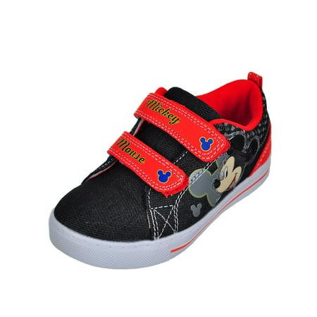 Disney Mickey Mouse Boys' Sneakers (Sizes 7 - 12)