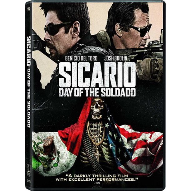 Sicario: Day of the Soldado (DVD + Digital Copy)