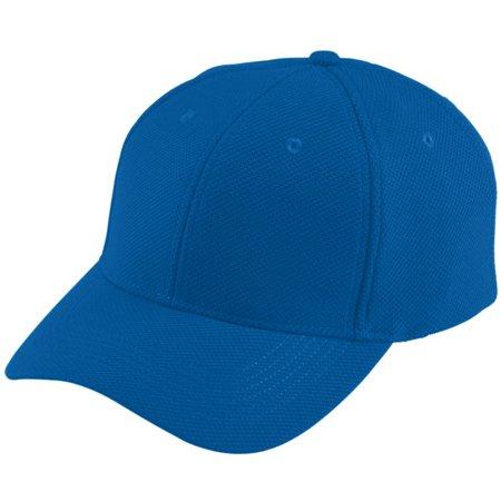 Augusta Sportswear Boy's Adjustable Wicking Mesh Cap, Royal, One Size