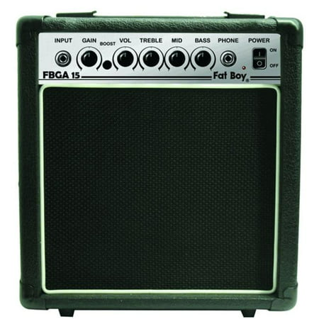 Fat Boy 15-Watt Guitar Amp - Hybrid Guitar Amps