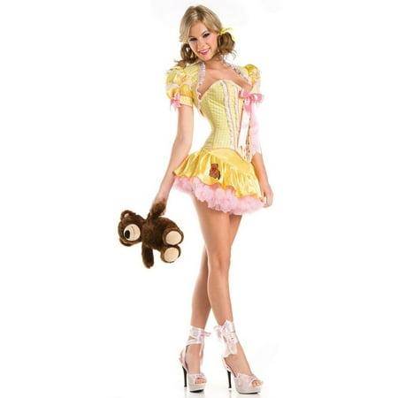 Sexy Goldie Costume - Goldie Locks Costumes