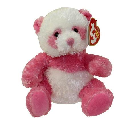 TY Beanie Baby - DAINTY the Pink Panda Bear (4.5 inch)