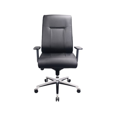 Marvelous Tempur Pedic Leather Computer And Desk Office Chair Fixed Arms Black Tp1001 Blk Ocoug Best Dining Table And Chair Ideas Images Ocougorg