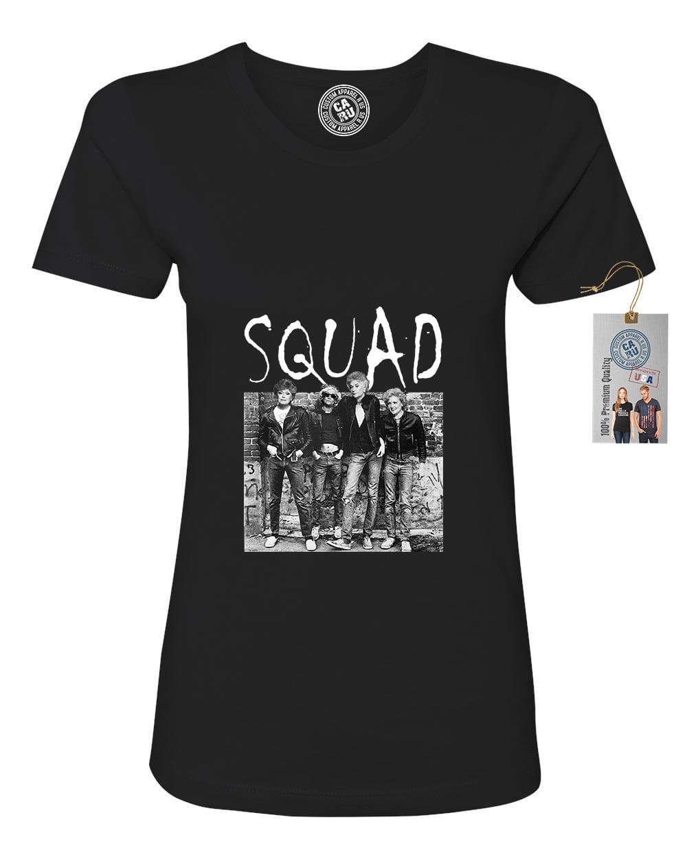 Golden Girls Squad Gang TV Show Womens Short Sleeve Shirt