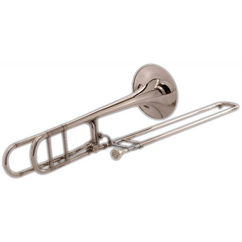 Blessing BTB-88OS Artist Series Trombone with F Attachment Open Wrap, Silver-Plated by Blessing