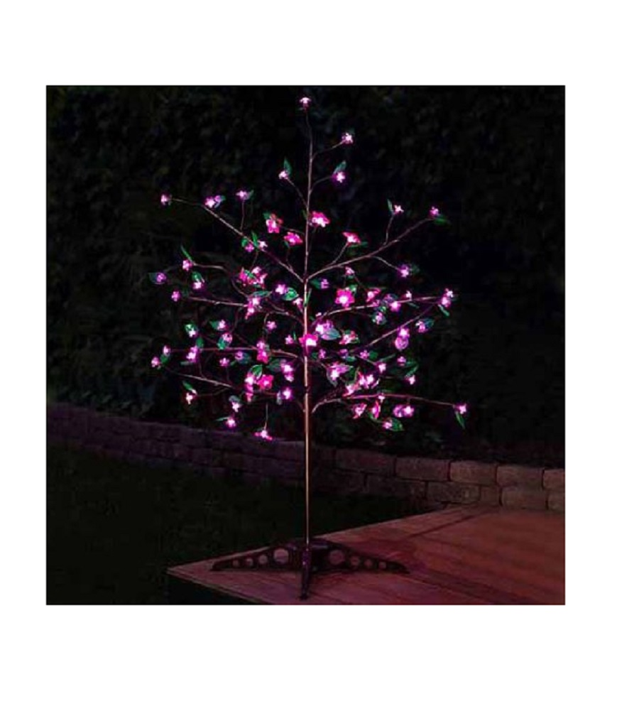 Anywhere Pink LED Tree