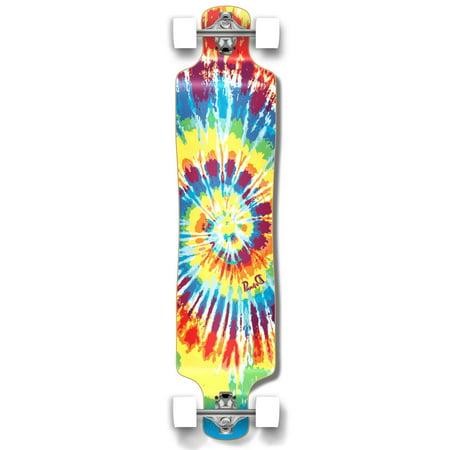 Lowrider Longboard (Yocaher Lowrider Tiedye Original Longboard Complete )