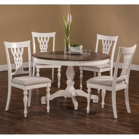 Hillsdale Bayberry / Embassy 5 Piece Round Dining Table Set Bayberry 5 Piece Cherry