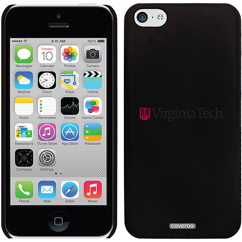 Virginia Tech banner Design on iPhone 5c Thinshield Snap-On Case by Coveroo