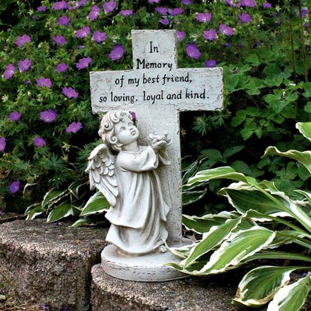 Design Toscano Best Friend Pet Memorial Statue