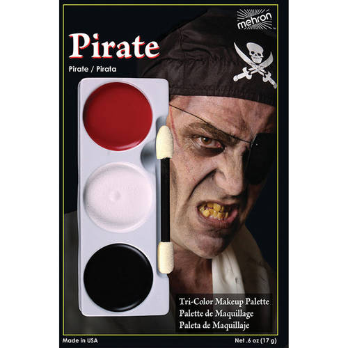 Tri Color Palette Adult Halloween Accessory