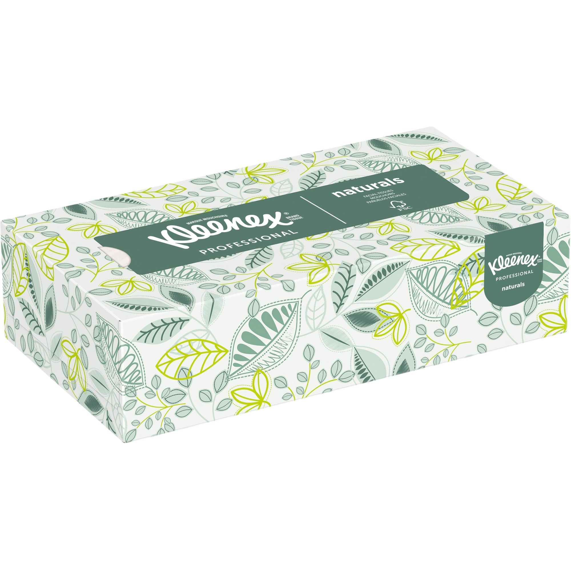 12 Bundles of 3 Boxes for a Total of 36 Boxes in The case, 95 Tissues per Box Kimberly-Clark Kleenex 21200 Boutique Facial Tissue with Floral Box 5 Height x 4.375 Width x 4.375 Length White