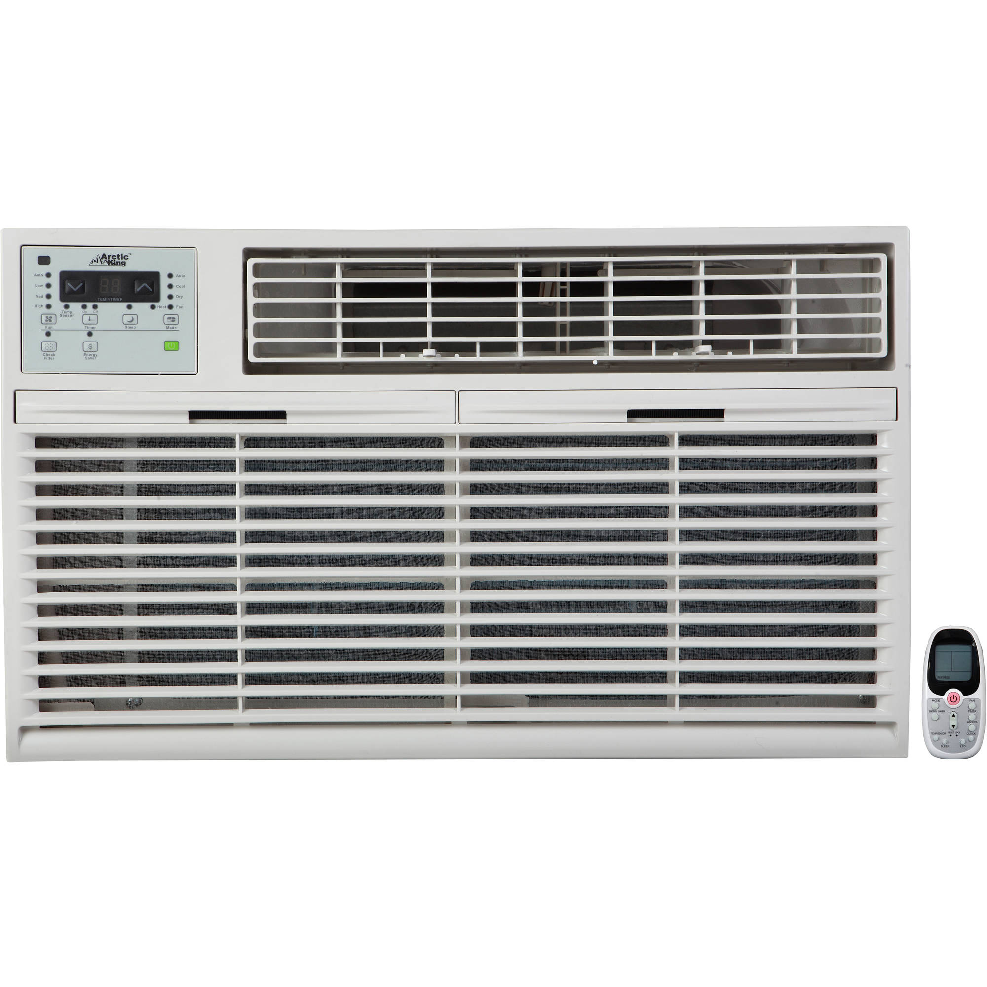 Arctic King WTW-12ER5a 12,000Btu Through the Wall Air Conditioner, Cool and Heat, White