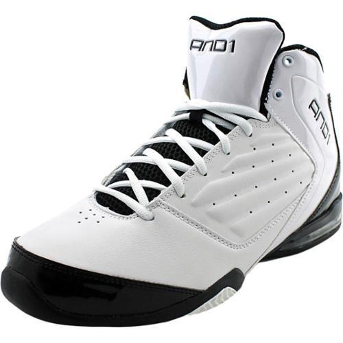 And1 Master 2 Mid Women US 10 White Basketball Shoe