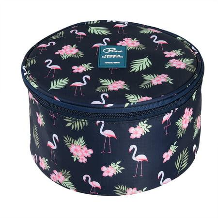 All Purpose Storage (Uarter Barrel Underwear Organizer Household Bra Lingerie Bag Multi-purpose Wash Storage Case for Travel and Daily Storage)