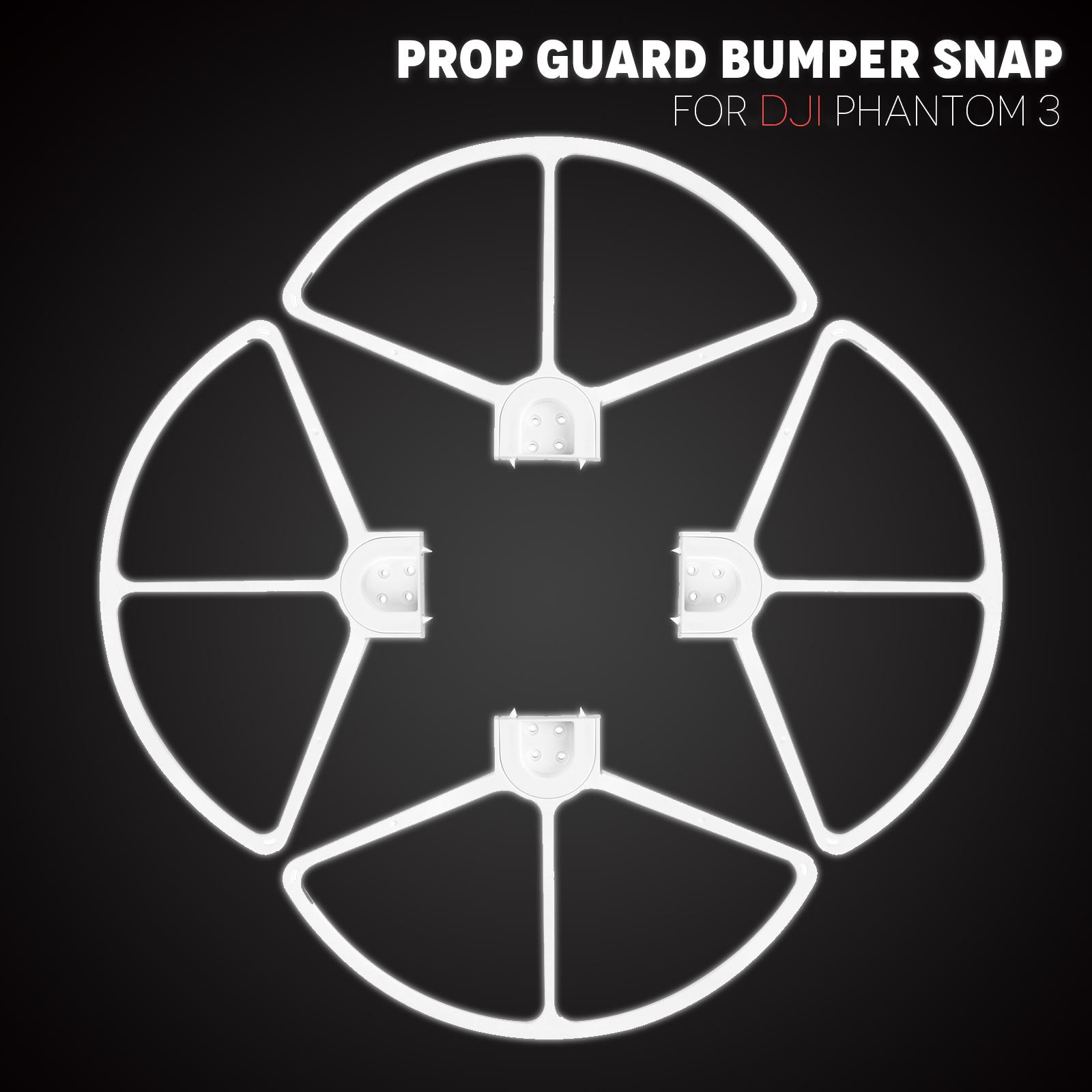 4pcs New Quick Release Propeller Prop Guard Bumper Snap On