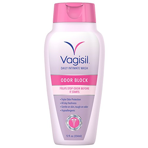4 Pack - Vagisil Intimate Wash, Odor Block, 12 Ounce Each
