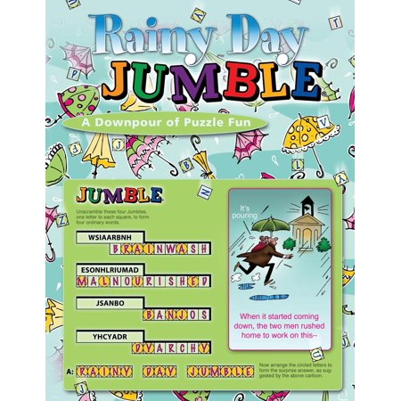 Rainy Day Jumble® : A Downpour of Puzzle Fun Rainy Day Frogs