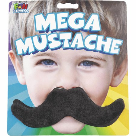 Fun Express Mustaches 13753223 Pack of 6