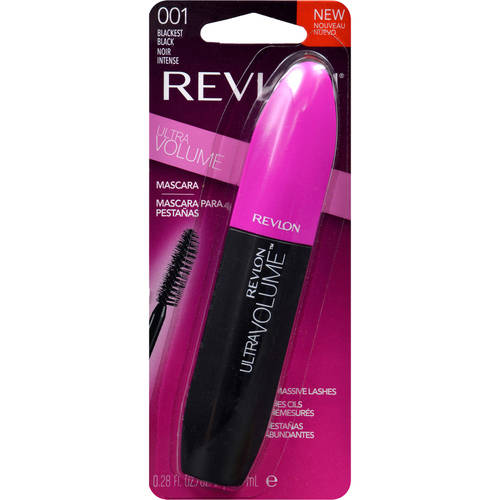 Revlon Ultra Volume Mascara, Blackest Black