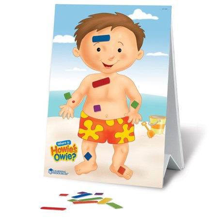 Learning Resources Where Is Howie's Owie?, Ages 3+
