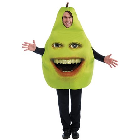 Adult Standard Size Annoying Orange Pear  Costume