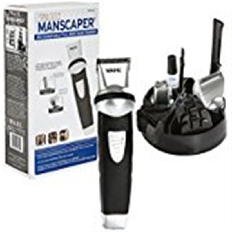 WAHL Professional Manscaper - Model # 8746 - Black/Grey - 1 Pc Kit Trimmer