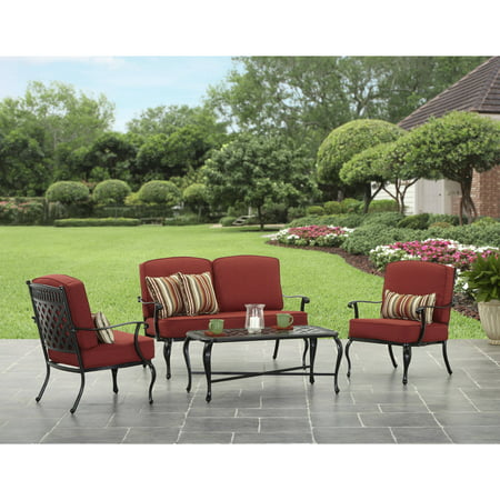 Sale Better Homes And Gardens Dawn Hill 4piece Aluminum