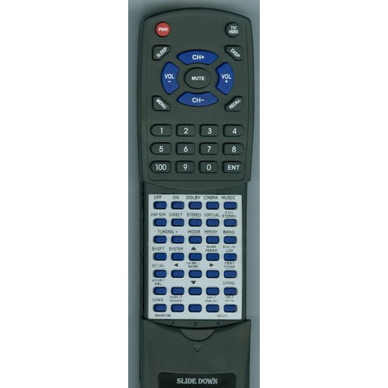 Replacement Remote for DENON 9630091105, RT9630091105, RC920, AVR683,  AVR1603, DHT683DVD