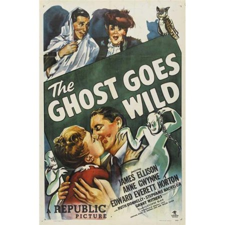 Posterazzi MOVCB99411 The Ghost Goes Wild Movie Poster - 27 x 40 in. - image 1 of 1