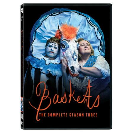 Baskets: The Complete Season Three (DVD) (Fruits Basket Dvd Set)