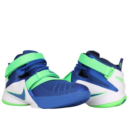 competitive price 40e72 25462 Nike - Nike Lebron Soldier IX (GS) Blue Big Kids Basketball ...