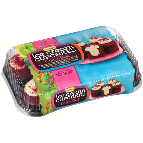 Jon Donaire Strawberries N Cream Ice Cream Cake, 40 Oz
