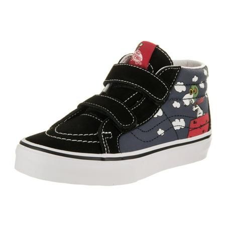 871189b8cc84ce Vans - Vans Kids Sk8-Mid Reissue V (Peanuts) Skate Shoe - Walmart.com