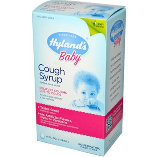 Hyland's Baby Cough Syrup 4 oz (Pack of 2)