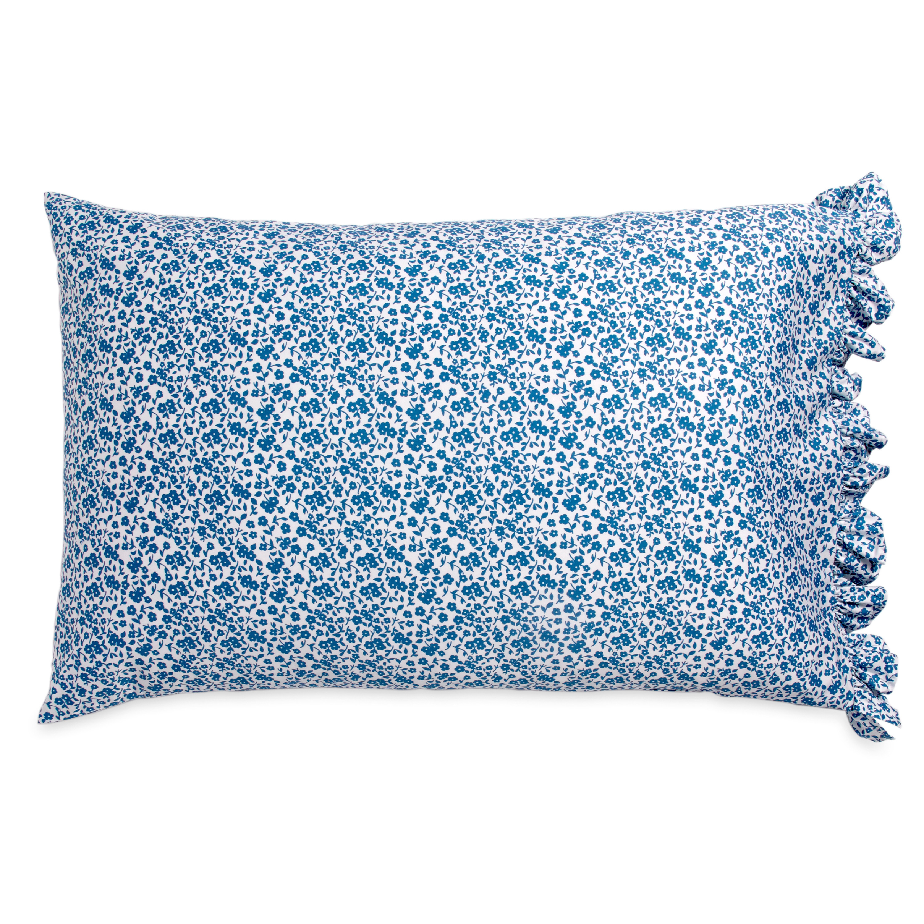 The Pioneer Woman Calico Floral Ruffle Pillowcase Set
