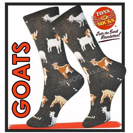 Women's Goats Socks (Charcoal Heather) ()