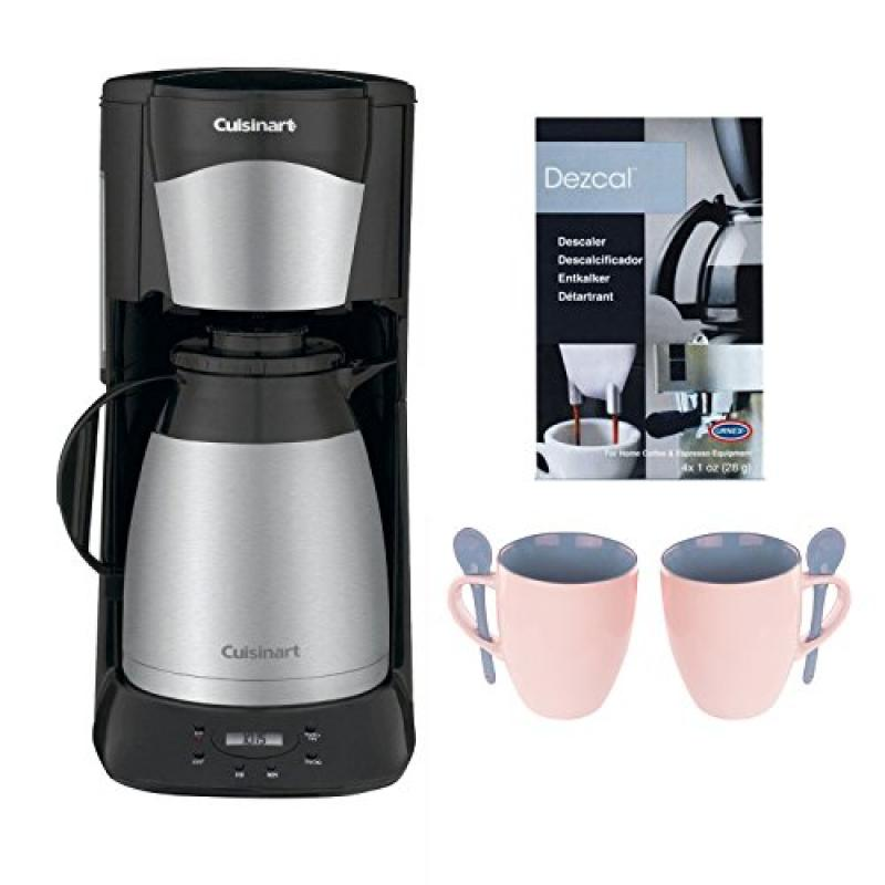Cuisinart DTC-975BKN 12 Cup Programmable Thermal Coffeemaker (Black) plus Coffee Maker Bundle