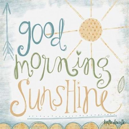 Sagebrush Fine Art PDXKA1360LARGE Good Morning Sunshine Poster Print by Katie Doucette, 24 x 24 - Large - image 1 of 1