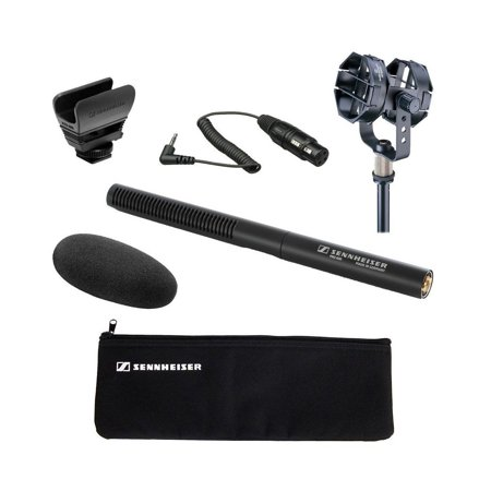 - Sennheiser MKE 600 Shotgun Microphone with Audio-Technica AT8415 Shock Mount and Sennheiser KA 600 - XLR Female to 1/8