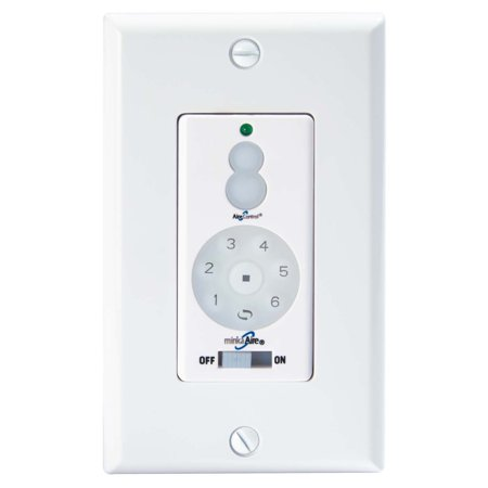 Minka Aire Wc400 Dc Wall Mount Ceiling Fan Remote Control