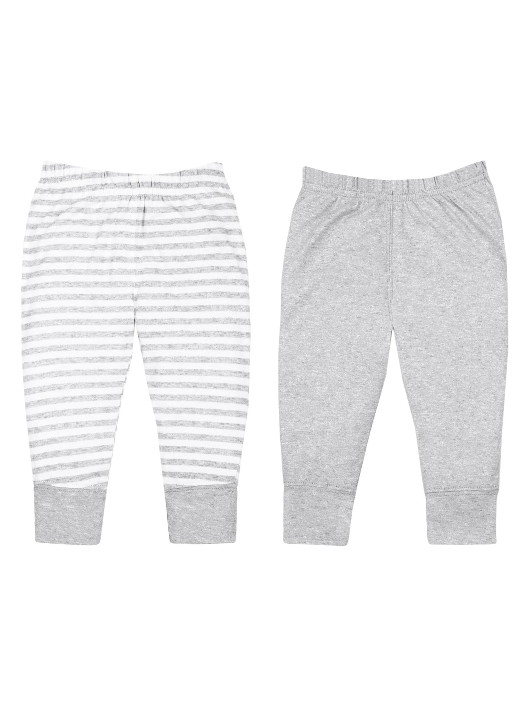 100% Organic Cotton Knit Pants, 2-pack (Baby Boys)